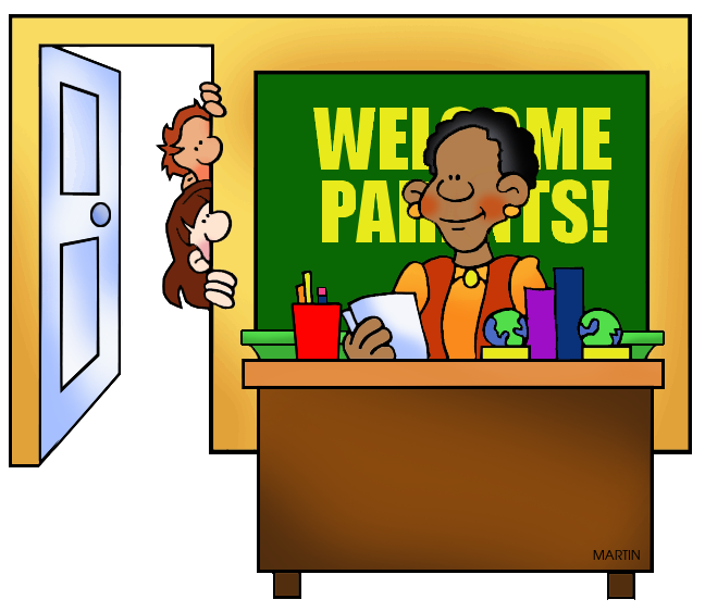 School Clip Art by Phillip Martin, Parent / Teacher Conferences