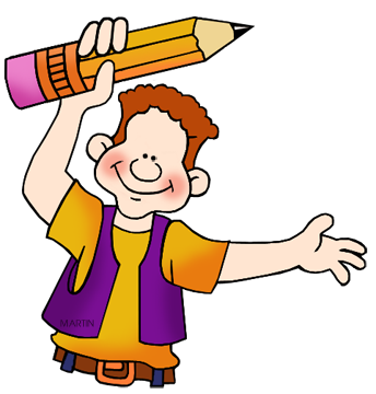 school clip art by phillip martin pencil